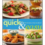 【预订】Betty Crocker Quick & Easy: 30 Minutes or Less to