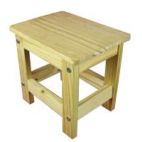 宜哉 学生板凳 松木小板凳 小凳子 儿童凳子 全实木 无油漆【YY1A-02】