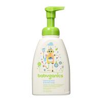保税区 Babyganics/甘尼克宝贝 泡沫型奶瓶餐具清洁液洗手液 无香型 16oz/473ml 海外购