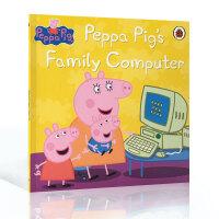 英文原版 小猪佩奇 粉红猪小妹 Peppa Pig: Computer Storybook 绘本故事3-6岁宝宝
