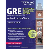 GRE 2017 Strategies, Practice & Review with 4 Practice Test
