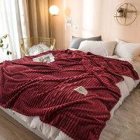 特兰斯加厚魔法绒法兰绒毛毯TLS012