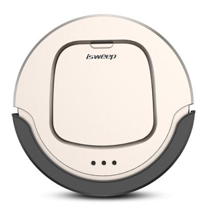 家卫士智能扫地机器人家用全自动洗擦拖地机吸尘器一体机S550扫地机器人家用全自动一体机超薄智能吸尘器拖地机擦地机金色