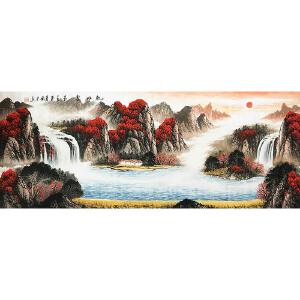 马国立《乾坤聚玉》著名画家