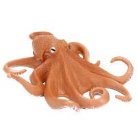 八爪鱼 章鱼 大海怪模型儿童仿真海洋海底生物野生动物玩具模型