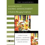 【预订】The Blackwell Handbook Of Global Management - A