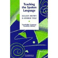 【预订】Teaching the Spoken Language: An Approach Based on