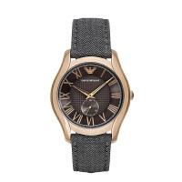 阿玛尼(ARMANI)手表 休闲男士手表时尚经典日历计时男表 AR1985/AR1984