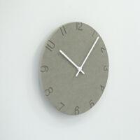 欧式挂钟客厅现代创意挂表卧室静音时钟简约家用石英钟表