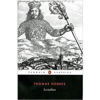 英文原版 利维坦 Leviathan 霍布斯