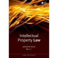 【预订】Intellectual Property Law