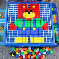 儿童拼图玩具早教益智宝宝拼图拼插积木玩具3-4-5-6周岁塑料拼装7