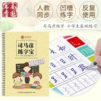南国书香 儿童字帖小学生基础练习楷书硬笔练字板本人教版同步生字