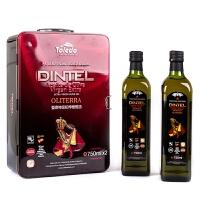 登鼎 欧尚特级初榨橄榄油礼盒 750mlx2 西班牙原装进口