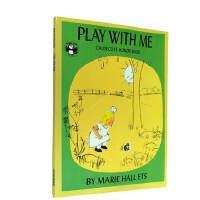 英文原版 Play with me 和我一起玩 1956年凯迪克银奖绘本 自然观启蒙绘本