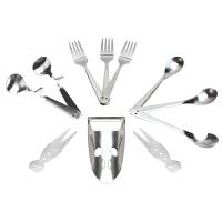 不锈钢 儿童餐具11件套 创意勺子汤勺叉子餐具套装礼盒