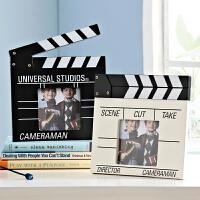 欧式相框摆台创意相架6寸照片框场记板儿童装饰品小摆件