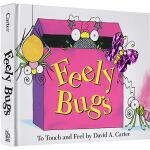 Feely Bugs 书里藏着好多虫 动态立体认知触摸书 David A. Carter 大卫・A.卡特
