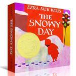 美国百本阅读书单 英文原版 凯迪克奖作品The Snowy Day 下雪天 纸板书 Christmas圣诞绘本