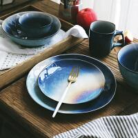 陶瓷北欧餐具套装结婚*家用碗盘碗筷碗碟子