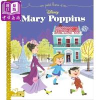 【中商原版】欢乐满人间 法文原版 Mary Poppins 儿童故事绘本 迪士尼电影