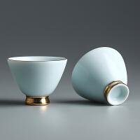 陶瓷个人杯伴 功夫茶具茶杯礼盒整套