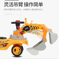 大号儿童挖掘机玩具车可坐可骑男孩挖土机1-3岁宝宝挖挖机工程车