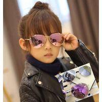 儿童眼镜太阳镜新款男童女童墨镜眼镜宝宝太阳眼蛤蟆镜