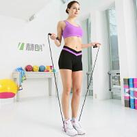 跳绳成人学生中考比赛跳绳专业儿童减肥健身器材钢丝花样跳绳绳子