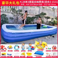 婴儿游泳池家用儿童充气游泳池家用超大号家庭婴儿游泳桶加厚洗澡池宝宝水池