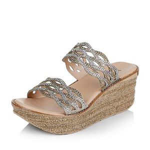 Teenmix/天美意夏季专柜同款布女鞋6YF18BT6