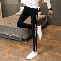 新品18春装新男士潮流时尚牛仔裤韩版修身青少年显瘦免烫小脚休闲