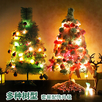 圣诞树圣诞节装饰品圣诞树植绒圣诞树套餐