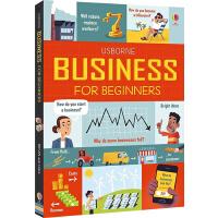 预售 Usborne Business for Beginners 读懂商业 英文原版 儿童英语启蒙绘本 少儿科学科普读