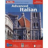【预订】Berlitz Advanced Italian [With 136 Page Coursebook]