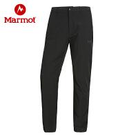 Marmot/土拨鼠户外男士轻量透气速干长裤