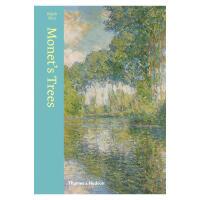 【预订】英文原版Monet's Trees莫奈画册 莫奈美术作品中的树 艺术绘画作品集图册 正版书籍