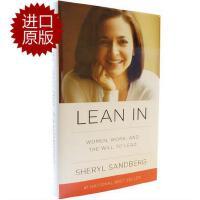 【现货】英文原版 向前一步 精装毛边书 Lean in: Women, Work, and the Will to Lead