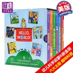 【中商原版】你好科学小世界盒装 英文原版 HELLO, WORLD! 幼儿科学启蒙绘本套书(6册合售)Random H