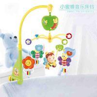 床头铃0-1岁宝宝 音乐旋转床铃婴儿玩具3-6-12个月