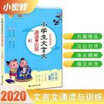 2020年新版 小蜜蜂 文言文启蒙 小学生文言文诵读与训练 名师推荐