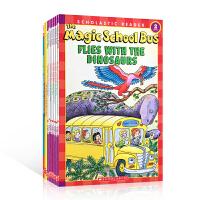 英文原版 The Magic School Bus 神奇校车百科9册套装 Jeanette Lane 经典科普读物