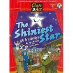 【预订】The Shiniest Star: A Nativity [With CD (Audio)]