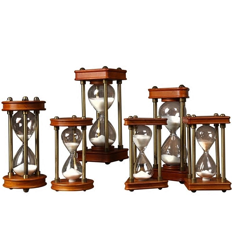 时间沙漏摆件现代简约15分计时器美式创意家居装饰品摆设