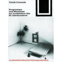 【预订】Programme Und Manifeste Zur Architektur Des 20.