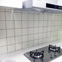 厨房壁纸防油贴纸墙面翻新防水仿瓷砖贴纸自粘墙贴