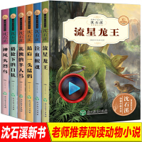 沈石溪动物小说 6册全集正版中小学生8-10-12-15岁 少儿童读物畅销 三四五年级课外书必读六年级小学生课外阅读书