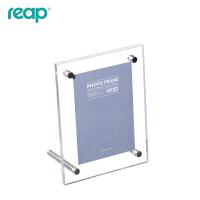 米尔斯系列 亚克力相框 桌签 桌牌 L型台卡 台签 桌面广告展示牌 6301 130X90mm
