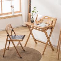 儿童学习桌写字桌椅套装可折叠带抽屉作业桌家用