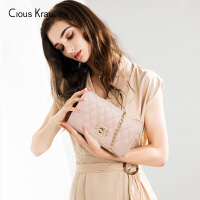 Clous KrauseCK包包女单肩斜挎包2019新款时尚菱格链条百搭简约个性女士包潮包